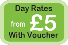 Day rates from £5 with voucher