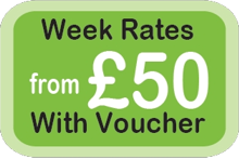 Week rates from £50 with voucher